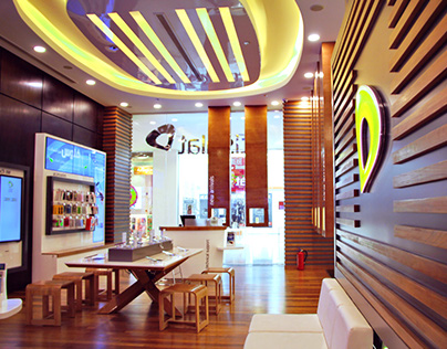 ETISALAT WOW CONCEPT FLAGSHIP STORE DESIGN
