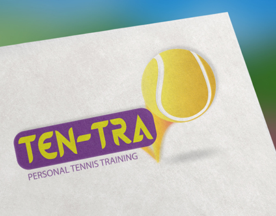Logo Design For Ten-Tra - Tennis Training Equipment