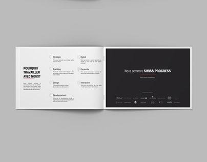 Notre Brochure Commerciale - Design by Swiss Progress