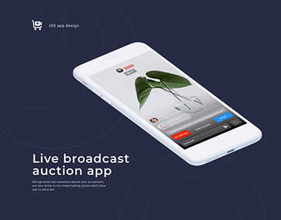 Auction - live broadcast app
