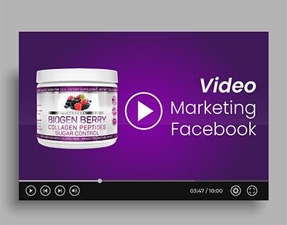 Edición de Videos - Producto BiogenBerry - Campaña FB