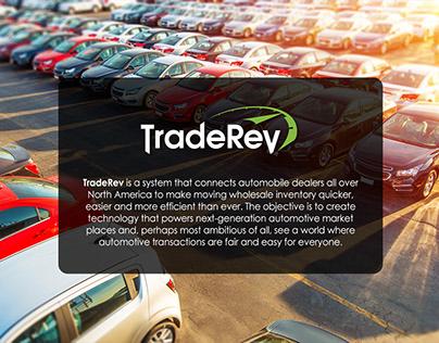 UI UX - TradeRev Login Page