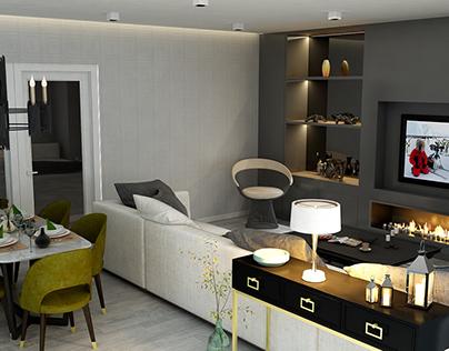 Salon Tasarımı Beşiktaş/İSTANBUL