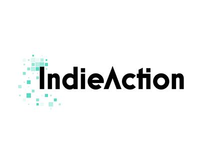 IndieAction Typografi Branding