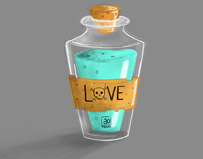 Love Potion . IpadPro & AdobeSketch
