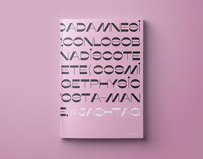 Diseño editorial + revista de arte