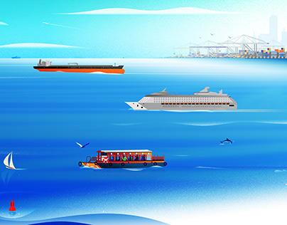 Innovation Leader, Cover Illustration for KPMG