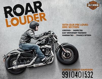 Harley-Davidson PreLoved Bike Social media campaign.