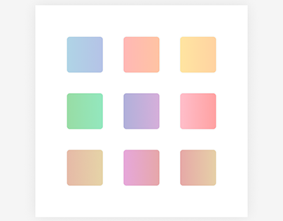 Colors and icons exploration for app