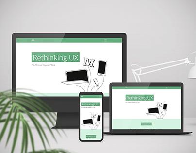 Rethinking UX : repenser une fonctionnalité