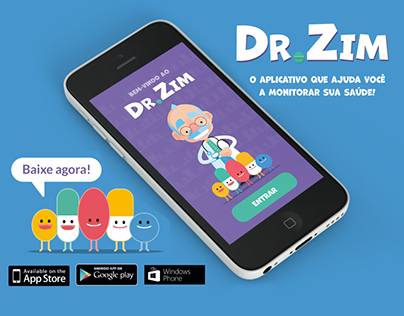 Dr.Zim - App de Monitoramento de saúde