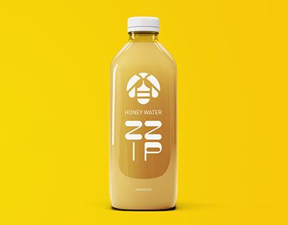 Honey Water/Logo and branding