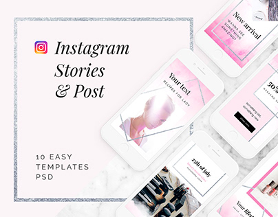 Instagram packs post/stories
