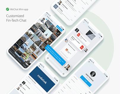 WeChat Mini App - Fintech Chat