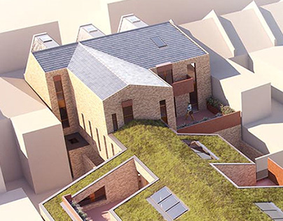 Dudden Hill Lane // Architectural CGI Visualisation