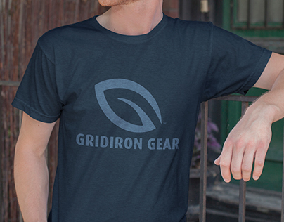 Gridiron Gear Logo and T-Shirt