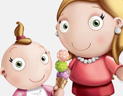 BABY CORNER Character Design & Illustration