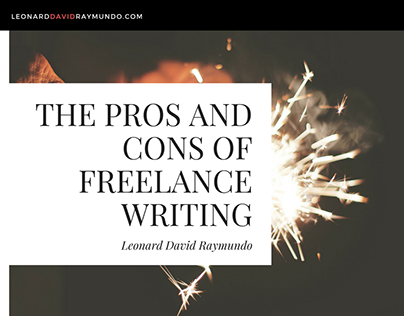 The Pros and Cons of Freelance Writing