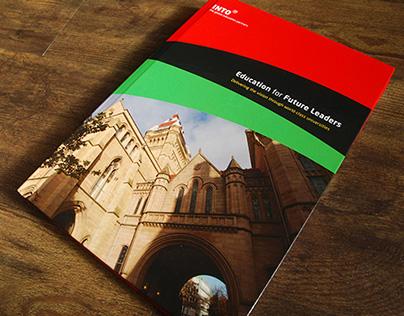 Company brochure for INTO University Partnerships
