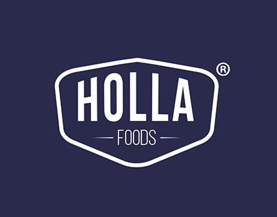 HOLLA FOODS PACKAGE DESIGN