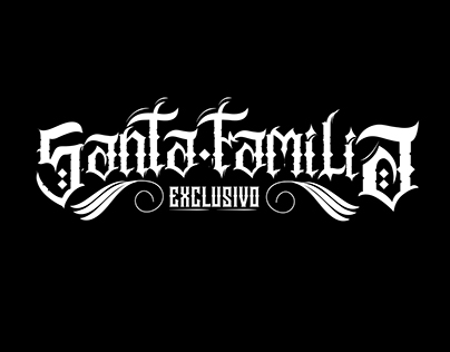 SANTA FAMILIA LETTERING BRAND
