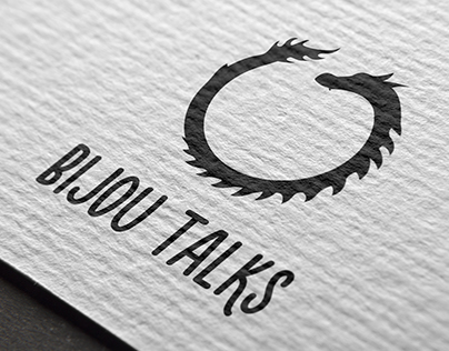 Logo for the project Bijou talks