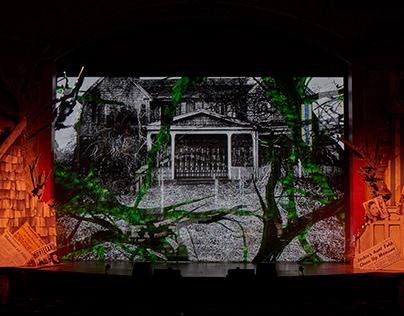 """Grey Gardens"" Projection Design"