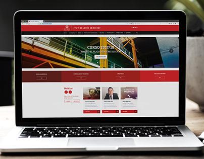 Web Facultad de Derecho