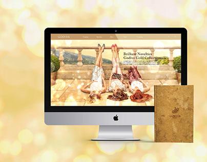 GODIVA WEB DESIGN