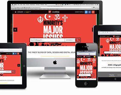 NewsFlicks Responsive Website