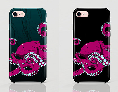 Illustrations for mobile phone cases