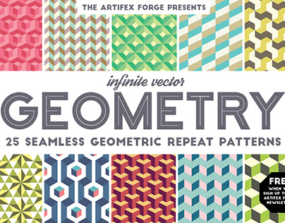 FREE Infinite Geometry Patterns
