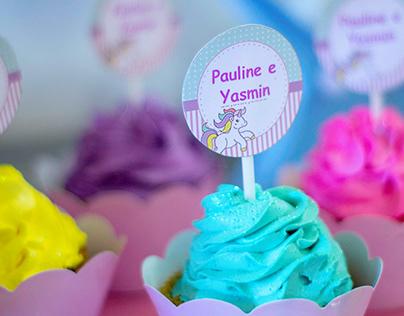 Aniversário Pauline e Yasmin