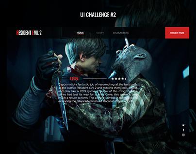 Resident Evil 2: Remake UI