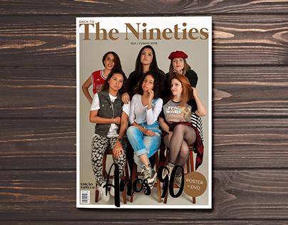 Diagramação Revista The Nineties (TCC Semestral)
