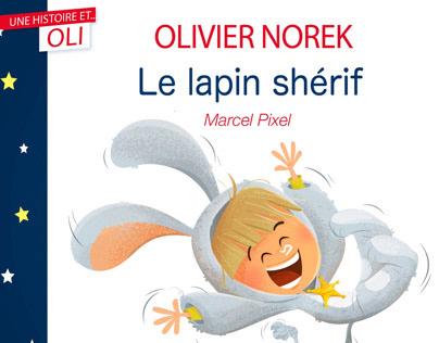 Album jeunesse «Le lapin shérif «