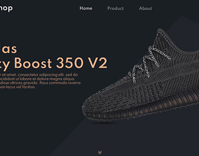 Landing page for - Adidas
