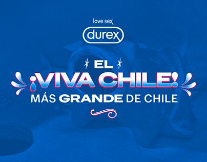 El ¡VIVA CHILE! más grande de Chile | DUREX