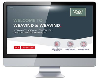 Weavind & Weavind - Website Design -
