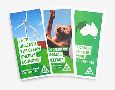 NSW Greens Campaign Collateral