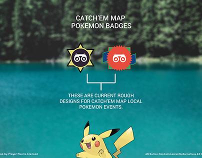 Catch'em Map | Pokemon GO Event Badges