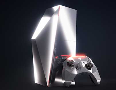 Tesla Cyberbox gaming concole concept