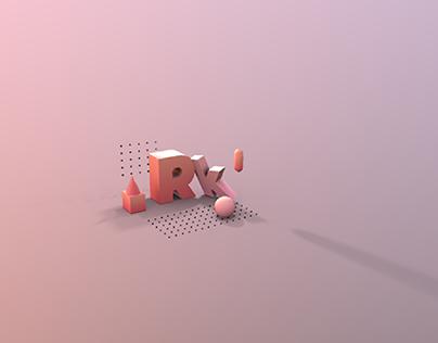 3d art on text