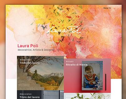 Laura Poli - Website UI