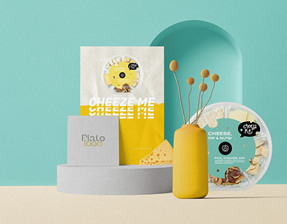 Cheezz Me - Product Branding and Packaging Design