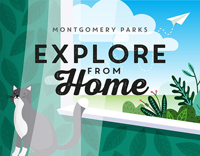 Montgomery Parks Explore From Home Graphics