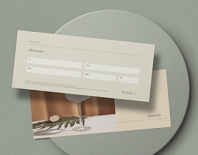 FREYĀ — Brand Stationery Set