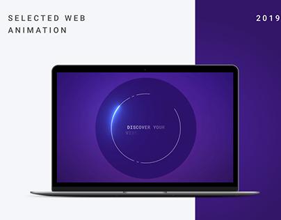 Selected Web Animation