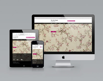 The John Bright Collection Website