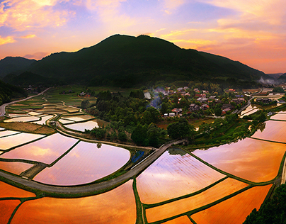 Landscape photography of Oita Japan #02
